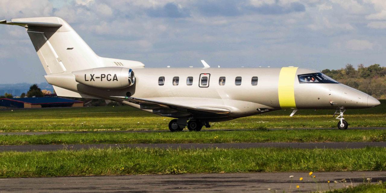 Oriens Aviation and London Biggin Hill Airport welcome Jetfly's new Pilatus PC-24