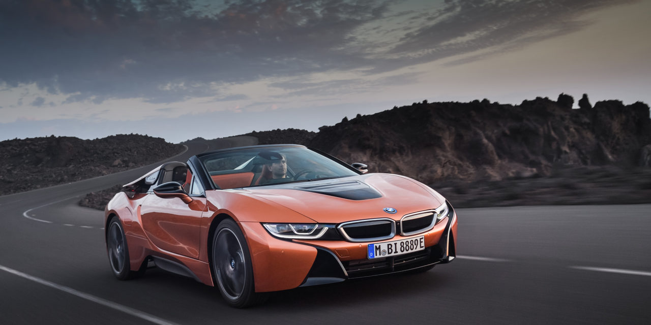 BMW i8 Roadster – « Watts and Men »