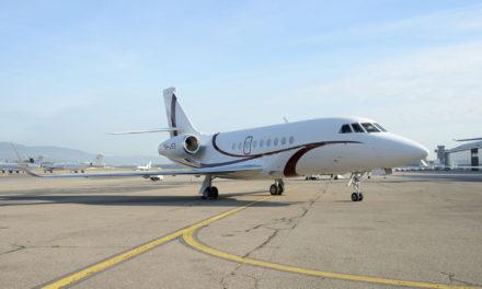 A Dassault Falcon 2000LXS for TAG Malta