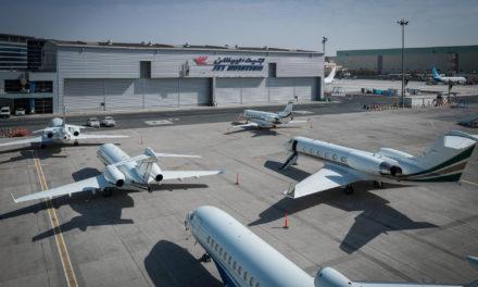 Jet Aviation makes two C-Checks in tandem on Gulsftream GV in Dubai