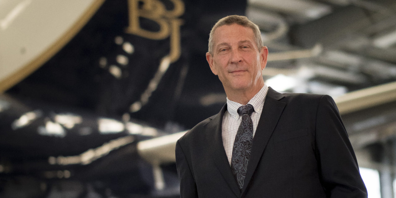 Interview with Greg Laxton, CEO of Boeing Business Jets