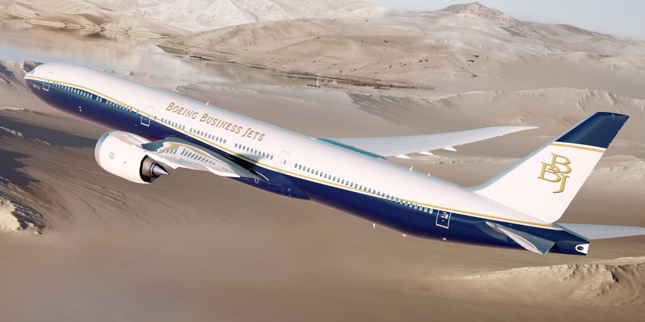 Boeing launches BBJ 777X
