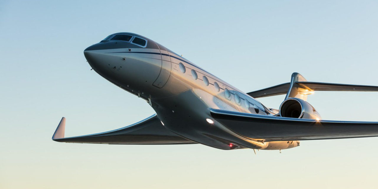 G650ER sprints from Singapore to San Francisco in high-speed