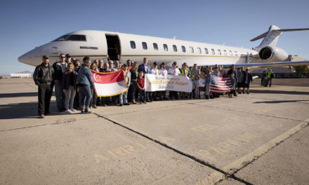Bombardier Global 7500 aircraft completes the world's longest range business Jet flight in history