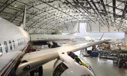 Comlux Maintenance Services raise the bar on large VIP aircraft