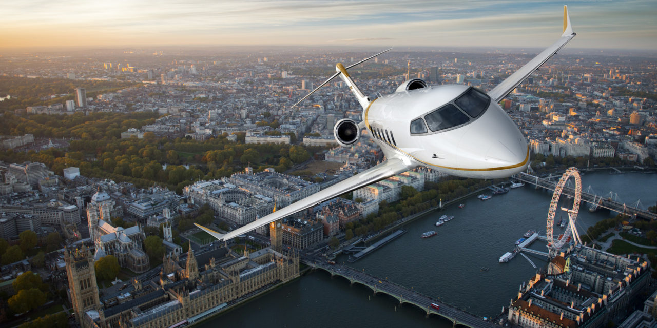 Segment-defining Bombardier Challenger 350 aircraft celebrates its first delivery in Belgium