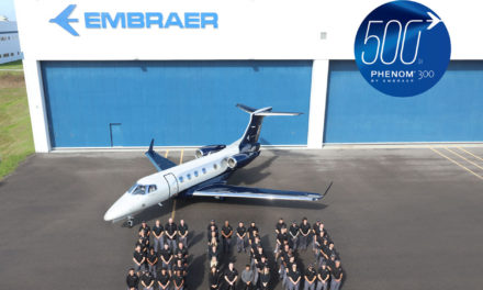 Embraer delivers the 500th Phenom 300 series aircraft, the most successful business jet of the decade