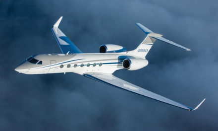 G550 reinforces reliability & capabilities with world speed record