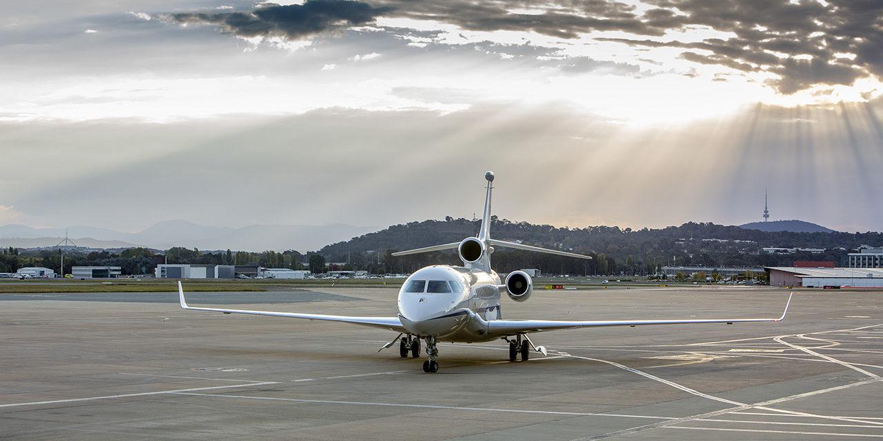 Australia receives first Falcon 7X VIP.