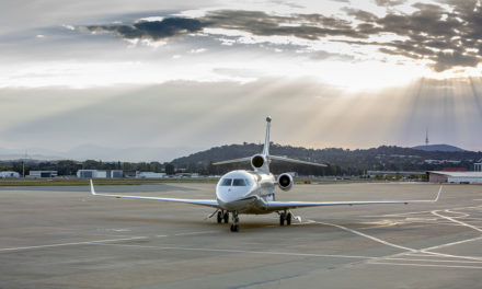 Australia receives first Falcon 7X VIP.
