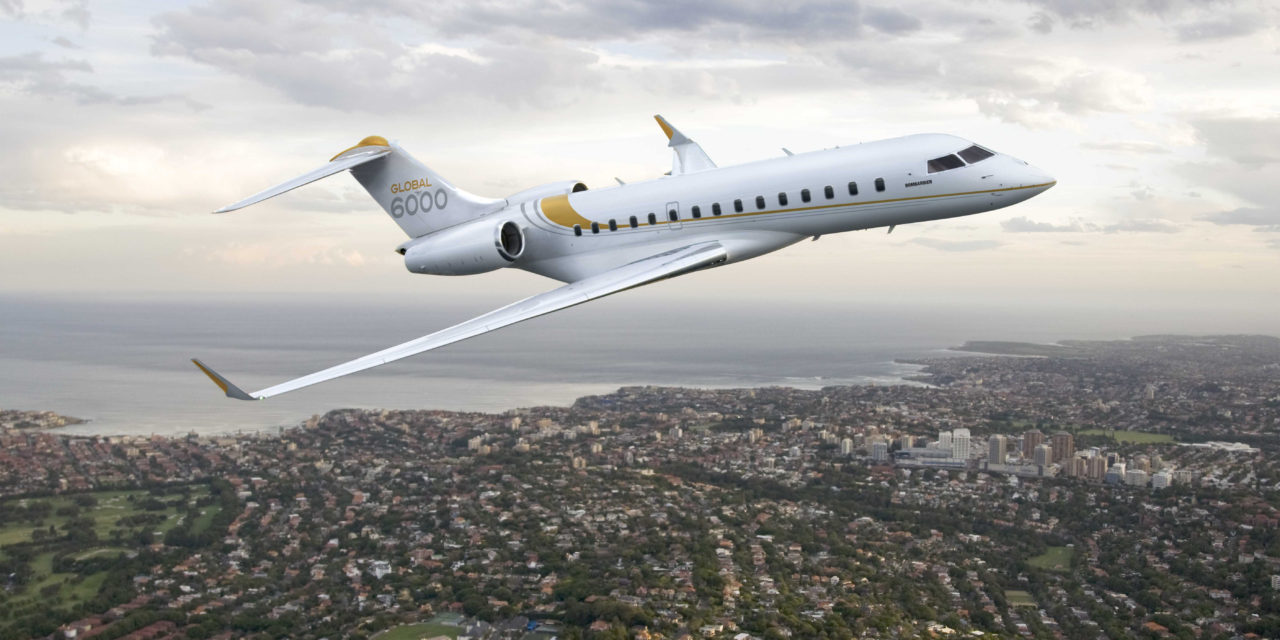 Global 6000 Joins Tag Malta's Managed Fleet