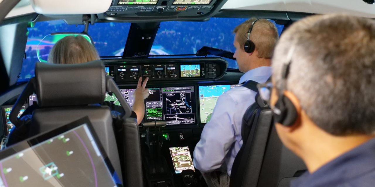 FlightSafety International now offers EFVS training