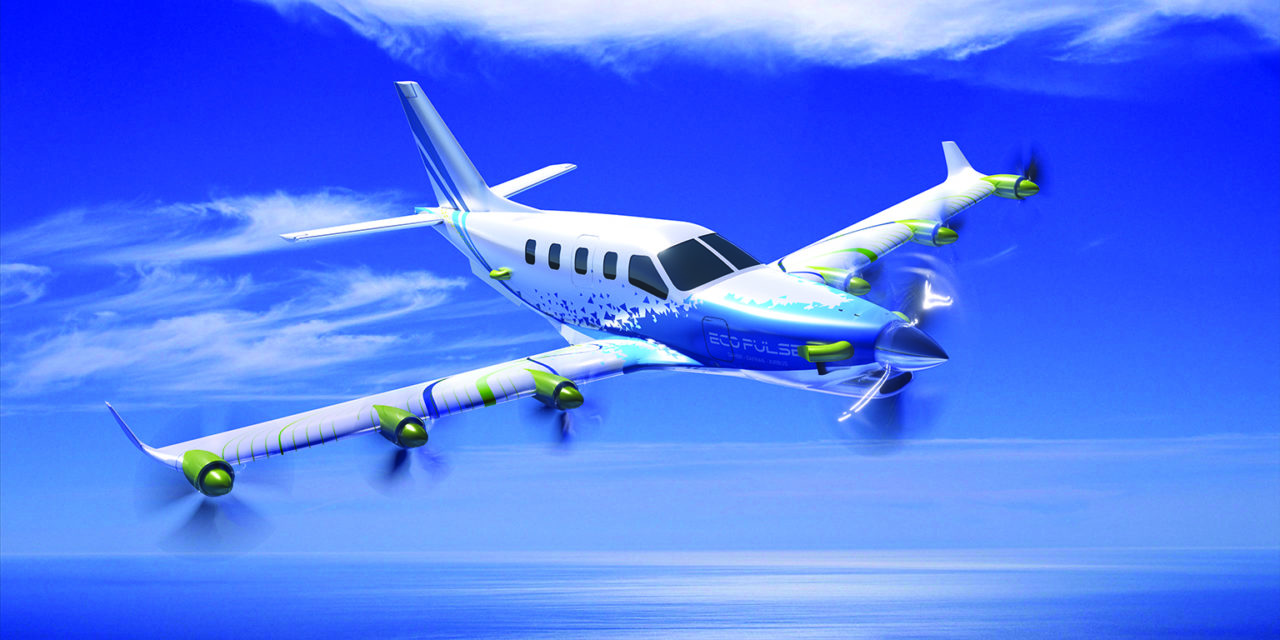 Daher, Airbus and Safran team up to develop EcoPulseTM, a distributed hybrid propulsion aircraft demonstrator.
