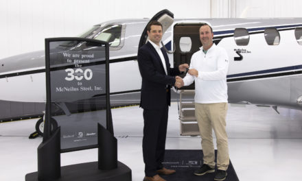 Textron Aviation delivered its 300th Cessna Citation CJ4