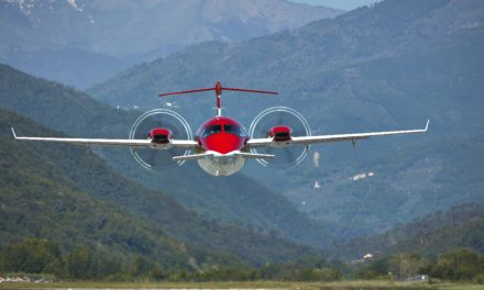 Piaggio Aerospace delivers two P.180 Avanti EVO
