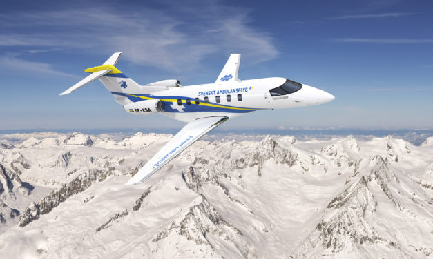 Swedish air ambulance organisation acquires six Pilatus PC-24s