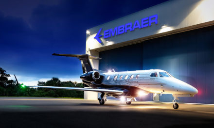 The Phenom 300, the world's most-delivered light-weight business jet