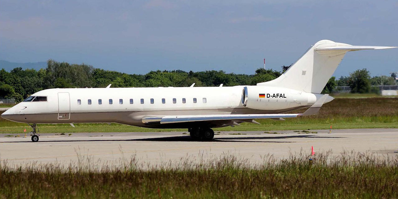FAI rent-a-jet AG welcomes its seventh Bombardier Global Express,