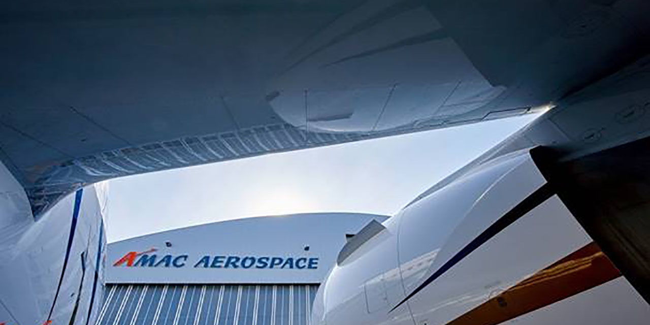 AMAC Aerospace will modify a Boeing 737 BBJ
