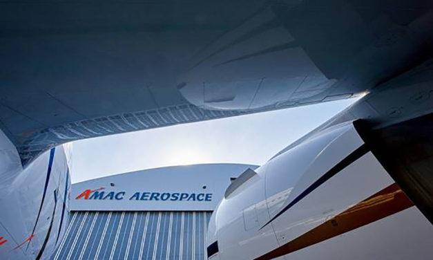 AMAC Aerospace will modify a Boeing 737 BBJ