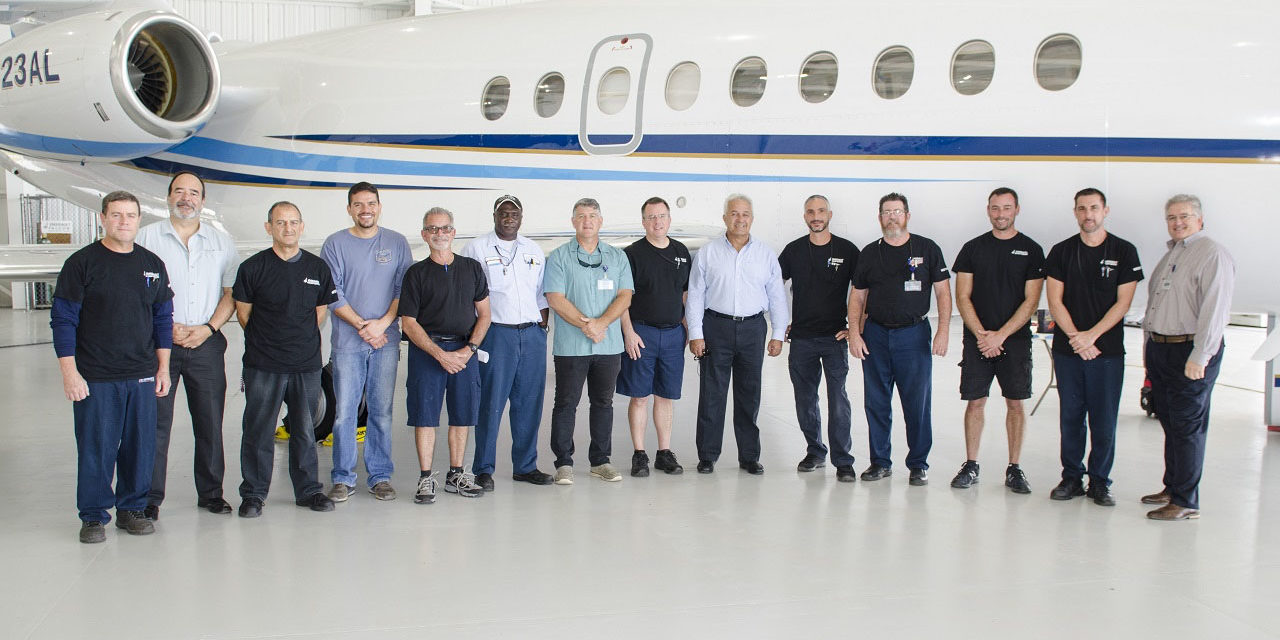 Dassault Aircraft Services (DAS) opens a new Florida satellite service center