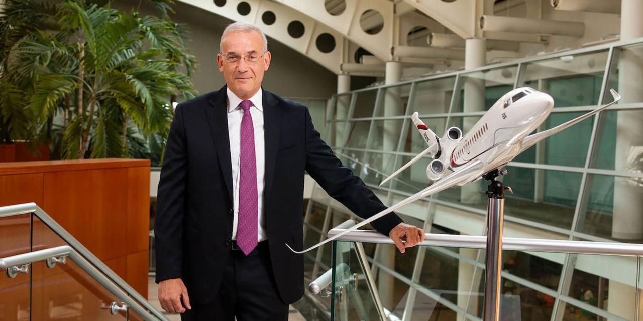 Thierry Betbeze : new Dassault Falcon Jet CEO