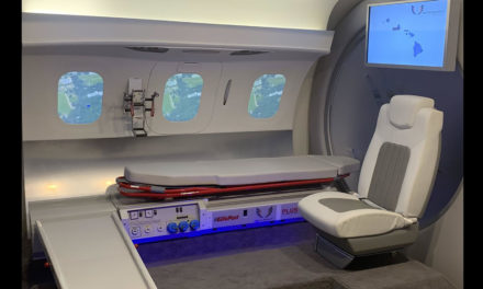 First Medevac configuration on HondaJet Elite