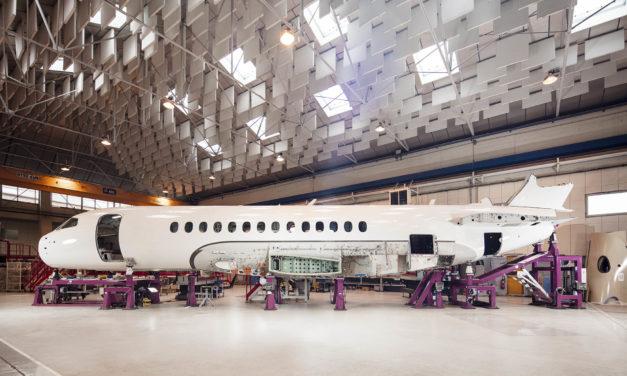 Dassault's Falcon 6X advances to initial production
