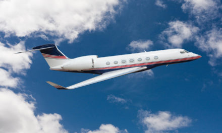 First  Gulfstream G600 for charter service