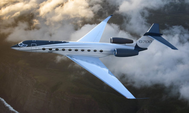 Gulfstream launches the G700