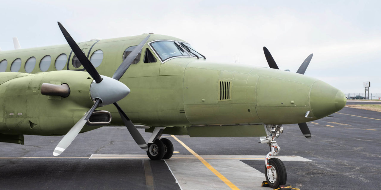 Textron Aviation offers new utility nose modification for Beechcraft King Air 350