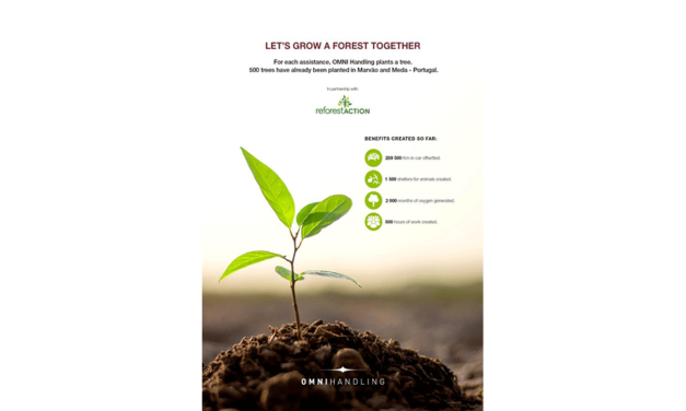 Omni Handling announces its partnership with Reforest'Action