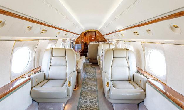 "Planet Nine (""P9PA"") adds Gulfstream GV to managed charter fleet"