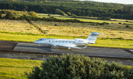 Gulfstream begins G500 deliveries to Europe