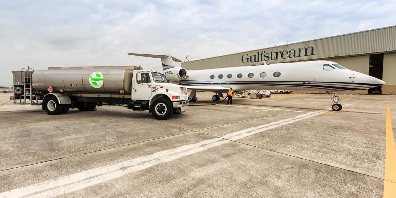 Gulfstream corporate aircraft fly more than 1 million nautical miles on sustainable aviation fuel