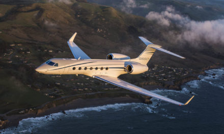 Gulfstream delivers 600th G550