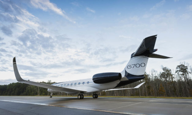 Daher's winglets take flight with the new Gulfstream G700 large-cabin business jet