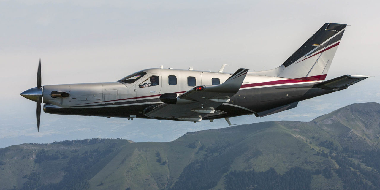 Daher's final touch on the 300th TBM 900-series