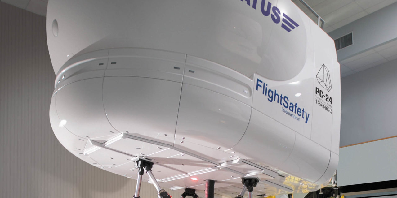 Flightsafety international now offers training for the Pilatus PC-24 super versatile jet in Paris