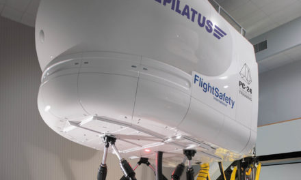 Flightsafety international now offers training for the Pilatus PC-24 super versatile jet in Paris