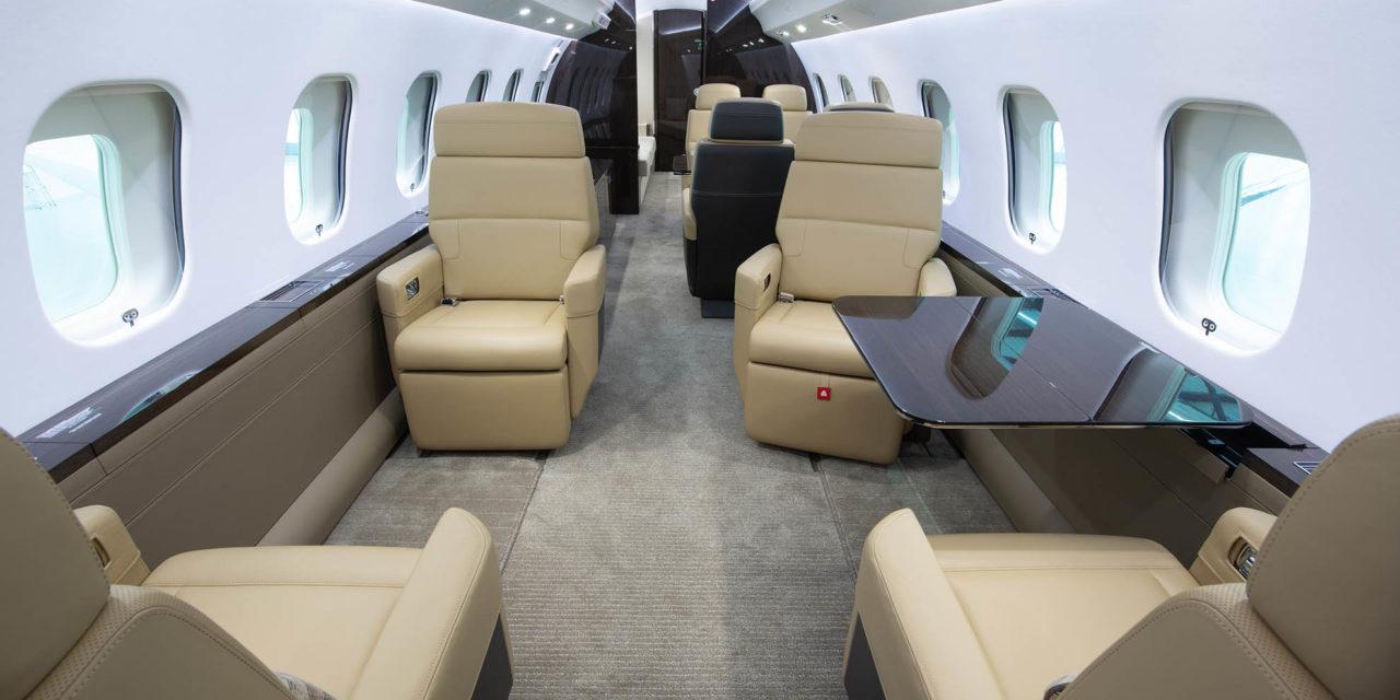 Brand new Global 6000 joins Nomad Aviation's charter fleet