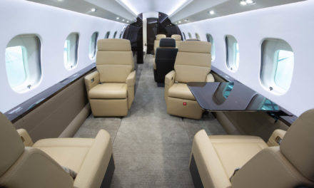 Brand new Global 6000 joins Nomad Aviation's charter fleet