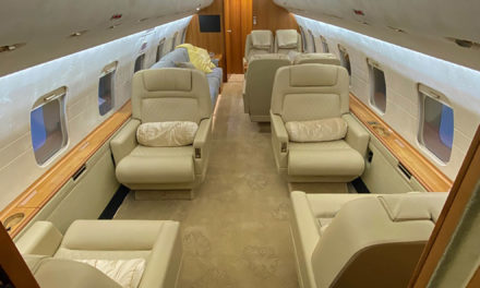 RUAG International integrates ADS-B Out and cabin interior modifications on Bombardier Challenger 604