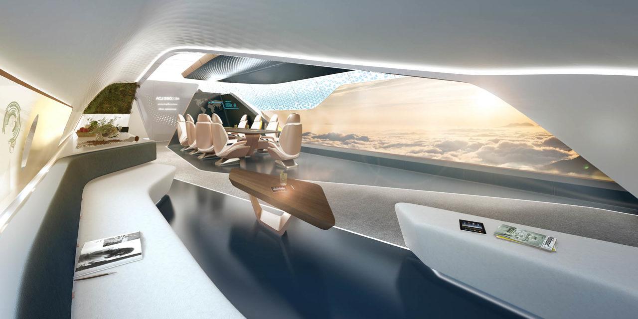 Seamless flow: the ACJ350XWB cabin concept