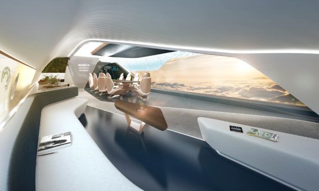 Seamless flow: the ACJ350XWB cabin concept