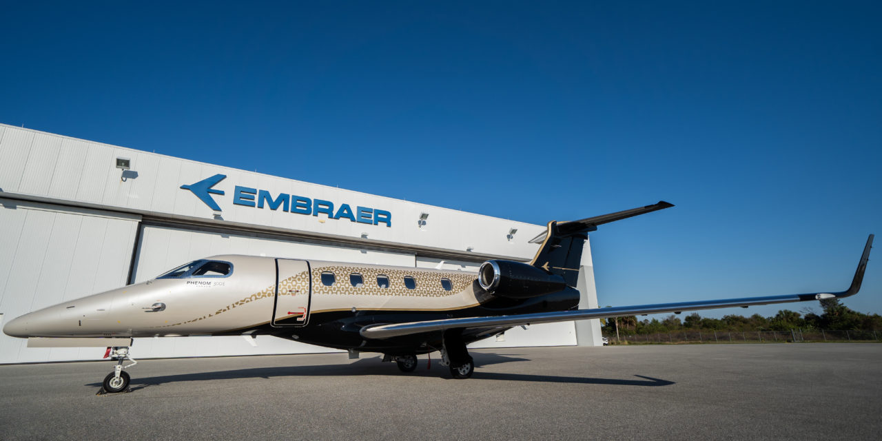 Embraer Phenom 300E Flight Test.