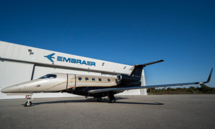 Embraer Phenom 300E Flight Test.