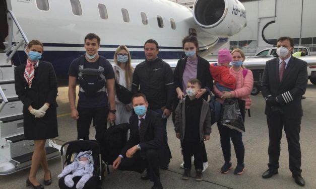Humanitarian airlift