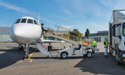 DFS Completes Falcon 900B Cargo Conversion