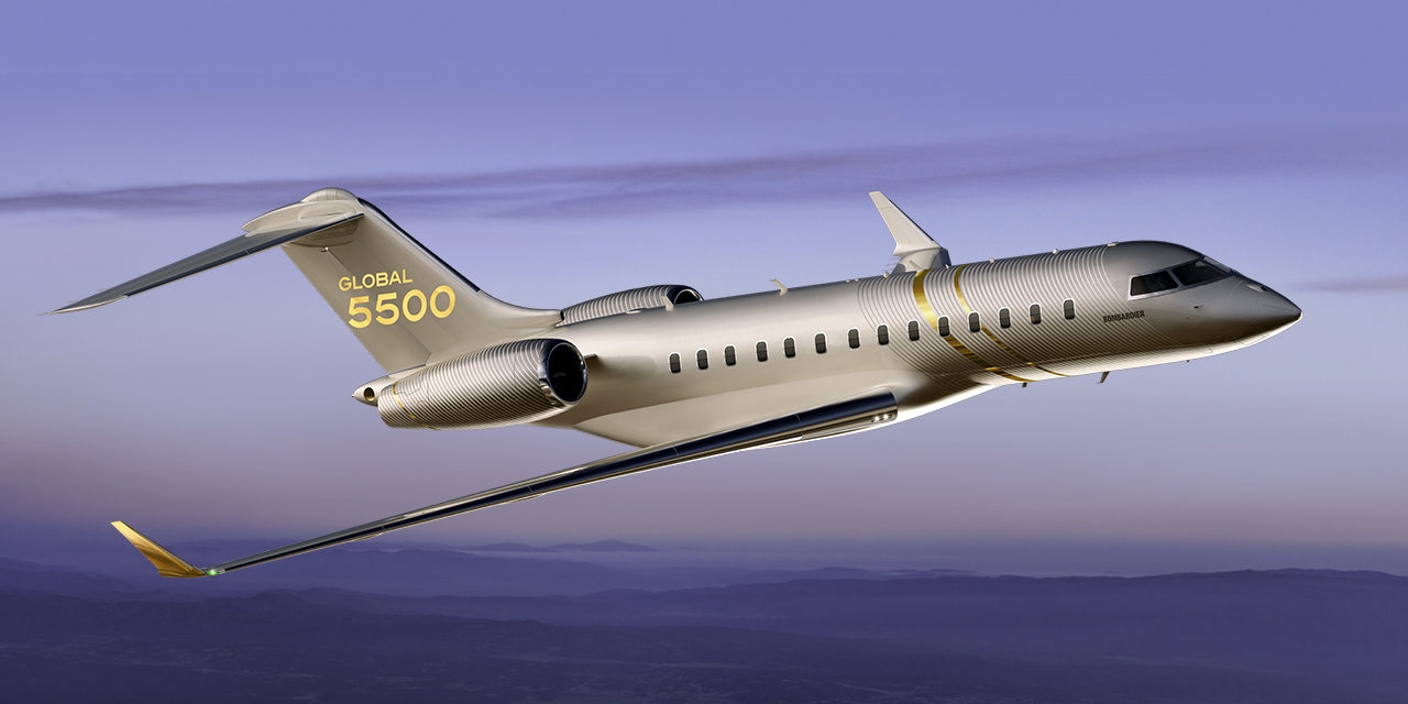 Bombardier Celebrates Entry-into-service of Global 5500
